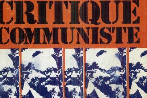 Critique communiste : numéro 25 – Novembre 1978 – Actualité de Léon Trotsky