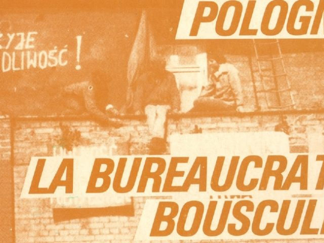 Critique communiste : numéro 33 – Octobre 1980 – Pologne : la bureaucratie bousculée