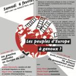 Débat à Paris le 6 février 2016 : «Les peuples d'Europe à genoux ?»