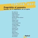 Numéro 5, Septembre 2002 – Propriétés et pouvoirs