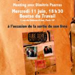 Meeting avec Dimitris Psarras, mercredi 11 juin, 18H30, Bourse du Travail, Paris 10e