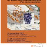Colloque : «Décentrements. Les Suds et les défis épistémologiques d'un monde commun» (Paris, du 26 au 28 novembre)