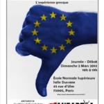 «La gauche face à la crise capitaliste et l'union européenne : l'expérience grecque» : journée-débat à l'initiative d'Antarsya-France (2 mars 2014, de 10h a 19h)