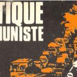 Critique communiste : numéro 24 – Septembre 1978