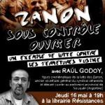 Jeudi 16 mai, 19h : conférence-débat avec Raul Godoy : «Zanon sous contrôle ouvrier, un exemple de lutte contre les fermetures d'usine»
