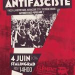 Samedi 4 juin : manifestation antifasciste, à la mémoire de Clément Méric