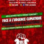Jeudi 10 décembre à 19h, meeting international : Urgence climatique, assignation à résistance !