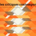Programme 2014 du séminaire «Pensées critiques contemporaines»